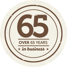 65 years in business